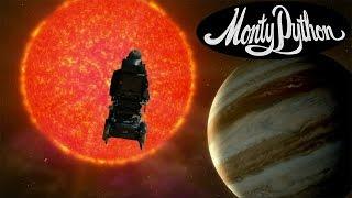 Stephen Hawking Sings Monty Python… Galaxy Song (Music Video)