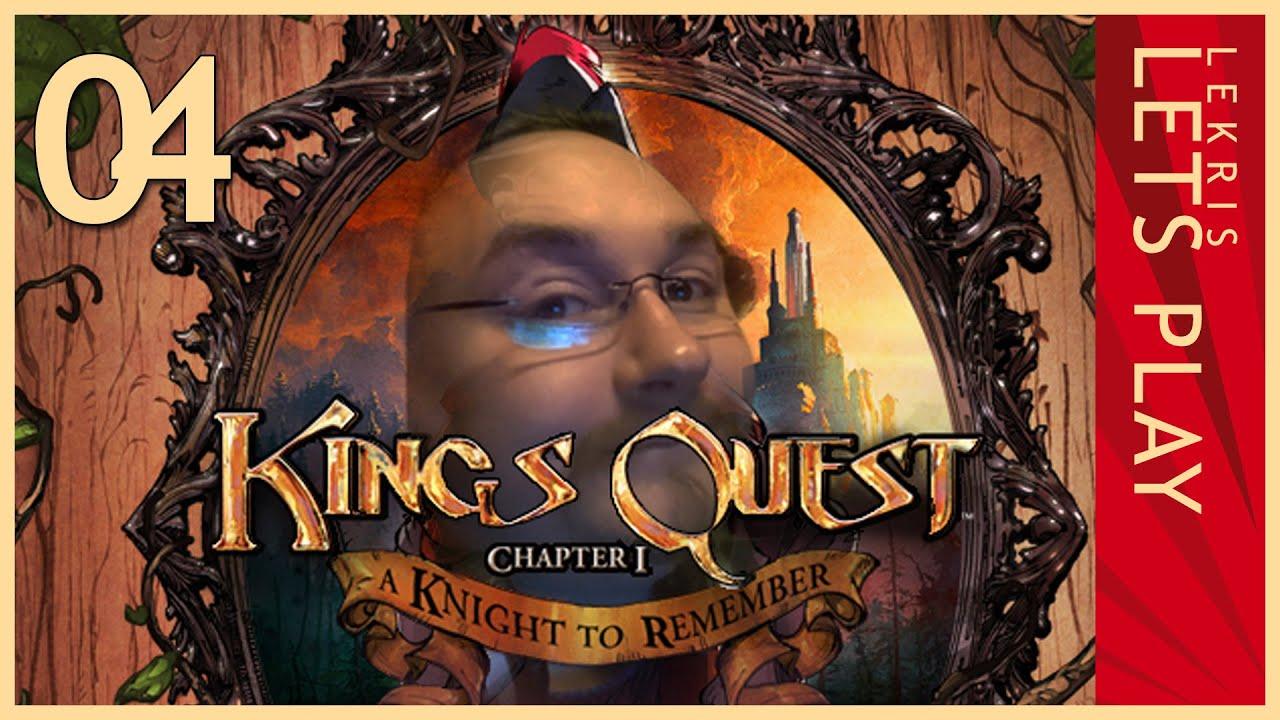 Let's Play King's Quest - Kapitel 1 - Der seinen Ritter stand #04 - Ich such' Dir Deine Augen, Kleines