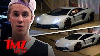 Video Justin Bieber's Lambo Causes Problems | TMZ TV MP3, 3GP, MP4, WEBM, AVI, FLV Maret 2018