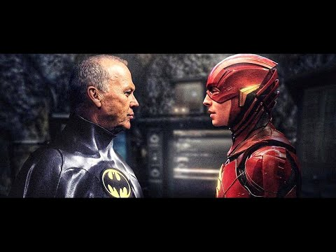 The Batman Michael Keaton Deleted Scene - Crisis on Infinite Earths Breakdown and Easter Eggs