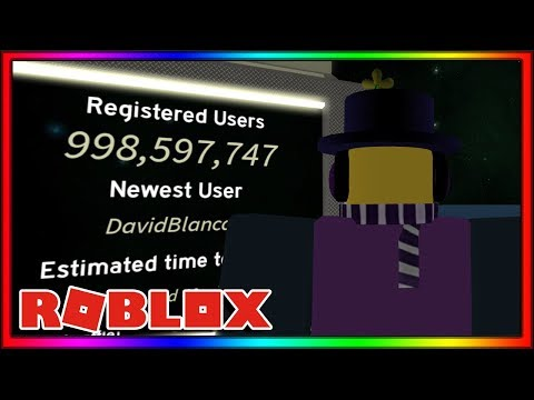 ROBLOX IS ABOUT TO HIT 1 BILLION USERS...