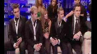 Delta Goodrem And Westlife X Factor Interview