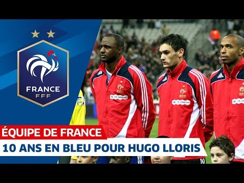Video 10 ans en Bleu pour Hugo Lloris, Equipe de France I FFF 2018 download in MP3, 3GP, MP4, WEBM, AVI, FLV January 2017