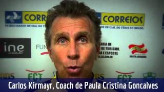 Carlos Kirmayr conta suas impressões do Brasil Tennis Cup