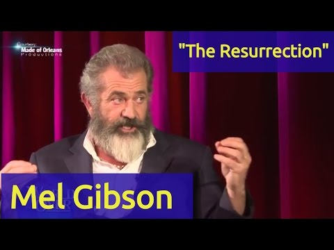 Image result for picture of mel gibson resurrection of the christ