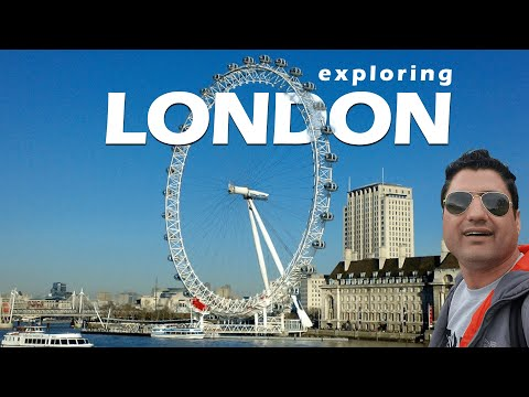 Exploring London by Walk  Buckingham Palace  UK Parliament  Europe Trip EP-4