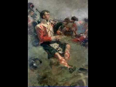 Regimental - The bagpipe march played in Waterloo movie.