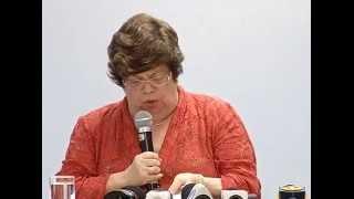 VÍDEO: Pronunciamento da secretária Ana Lúcia Gazzola sobre a decisão do STF