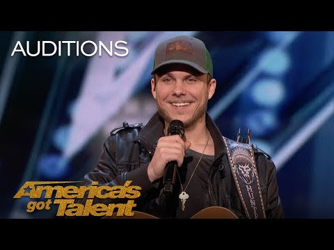 Hunter Price: Simon Cowell Requests Second Song From Performer - America's Got Talent 2018 (видео)