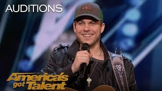 Hunter Price Simon Cowell Requests Second Song From Performer - Americas Got Talent 2018