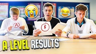 Video OPENING MY A LEVEL EXAM RESULTS 2019 *LIVE REACTION* WITH FRIENDS MP3, 3GP, MP4, WEBM, AVI, FLV Agustus 2019
