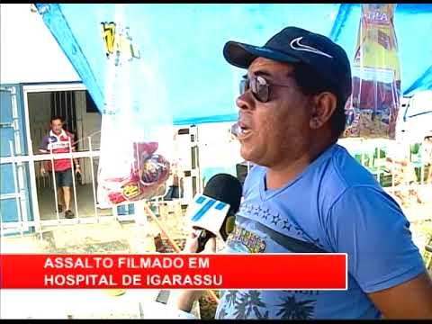 [RONDA GERAL] Assalto filmado em hospital de Igarassu