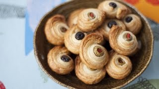 How to Make Olive Pastry Spirals
