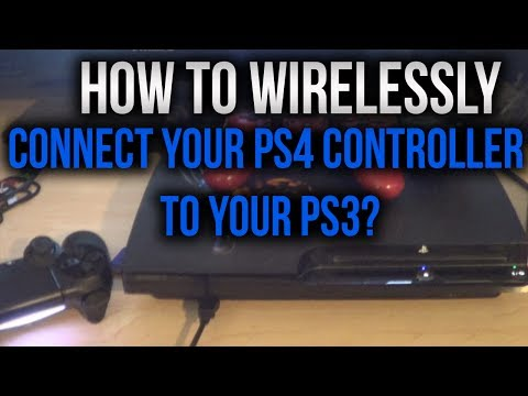 how to sync ds4 to ps4