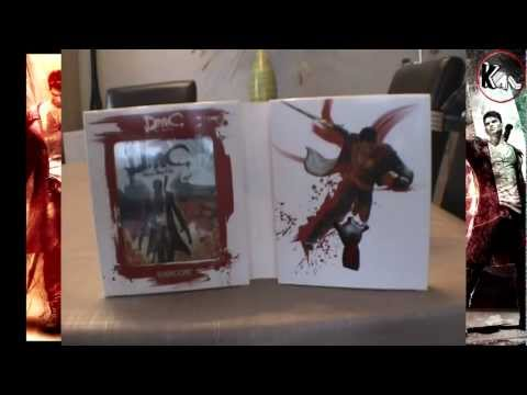 Unboxing DmC Devil May Cry Collector Playstation 3 - Edition Son Of Sparda (Euro version)