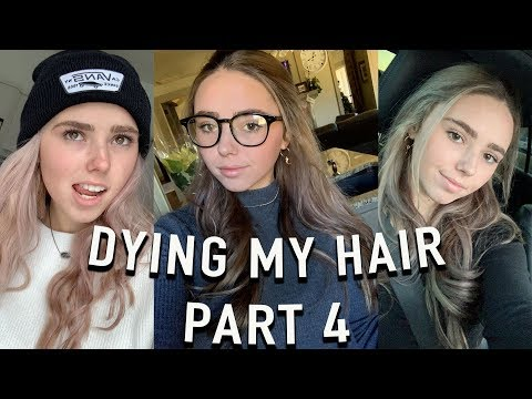 New hairstyle - DYING MY HAIR (whats new) BROWN!