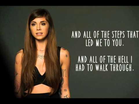 The Words (Lyric Video) - Christina Perri