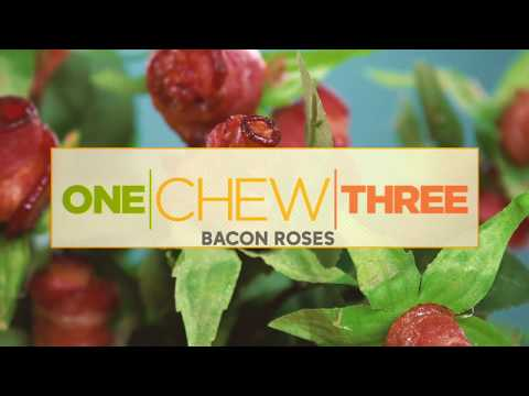 How to Make Bacon Roses!