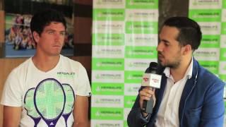 El tenista ecuatoriano conversó con nuestros micrófonos para dar a conocer varios detalles de su carrera, preparación y objetivos para el próximo año.Entrevista realizada por: Jorge Simonsen (@Jorge_simonsen)Detalles en http://aficioncentral.com/