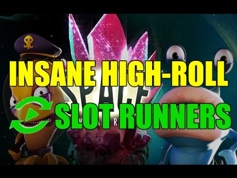 ONLINE SLOTS INSANE HIGH ROLL - 140€ BET - RIP OR CASHOUT?? - SPACE WARS - Slot Runners