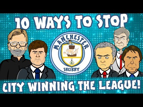👊🏻10 Ways To Stop MAN CITY👊🏻 ... winning the league