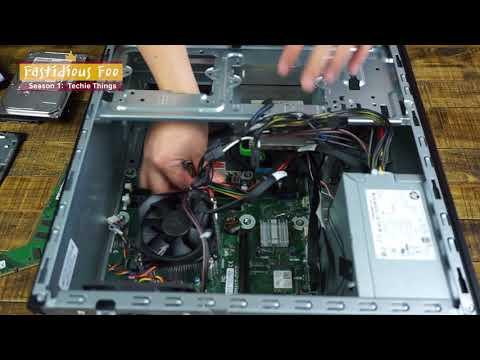 Partial Teardown / Parts of HP Pavilion Power Desktop 580-023w