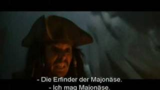 Pirates Of The Caribbean 1 OUTTAKES German Subtitles