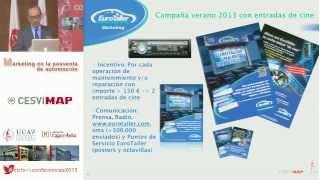 XI Jornada del Ciclo de Conferencias. 14/11/13. Ponencia Juan Carlos Pérez-Castellanos, Eurotaller.