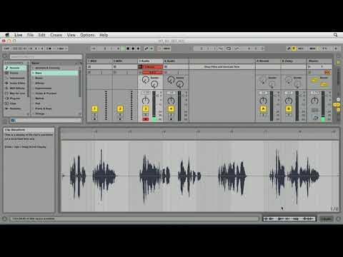 Ableton Live- הקלטת אודיו