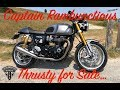Triumph Thruxton R for sale! Bye bye Thrusty...