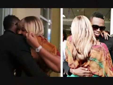 Zari Plays Sex With Diamond Platnumz, Ivan Pays Local Singer To Sing A Song For Zari.