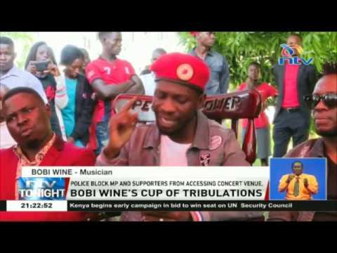 Ugandan MP Bobi Wine arrested for failing to keep safety rules