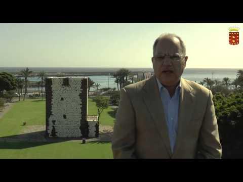 Mensaje de fin de año del Presidente del Cabildo de La Gomera Casimiro Curbelo