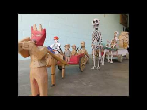 Day of the Dead Mexican Folk Art All Soul's Procession