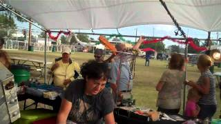 Chanute (KS) United States  city photos gallery : Sunny Rainstorm at Chanute Mexican Fiesta Kansas USA
