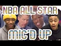 STEPH CURRY AND GIANNIS ANTETOKOUNMPO GAY?!?! NBA ALL STAR GAME 2017 MIC'D UP REACTION!!!