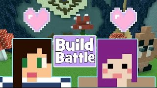 YOUTUBE GAMERS! - Minecraft Build Battle w/ Stacyplays