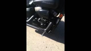 8. 2012 honda shadow phantom 750 cc