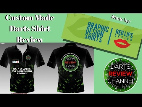 Custom Made Darts Shirt By Red Lips Design review