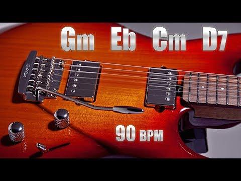 Emotional Sad Guitar Ballad Backing Track G minor