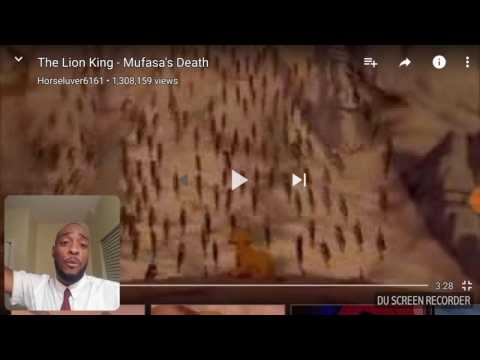 Reaction To Mufasa's Death