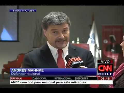 """Andres Mahnke: """"El foco está en el fortalecimiento de los derechos de los ciudadanos"""".  CNN, 27 de octubre de 2015"""