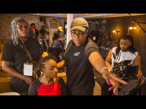 Funke Akindele directing Your Excellency