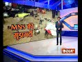 Maharashtra: MNS goons vandalize North Indians shops in Thane - Video