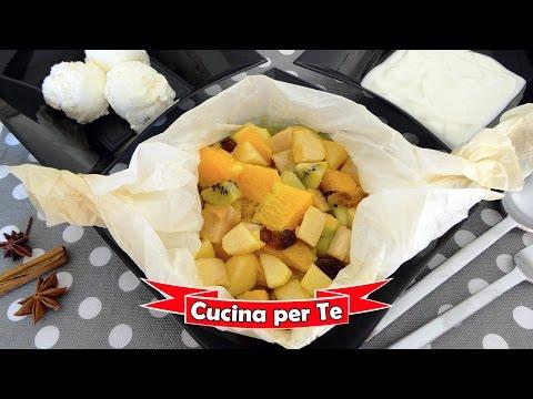 frutta al cartoccio - ricetta