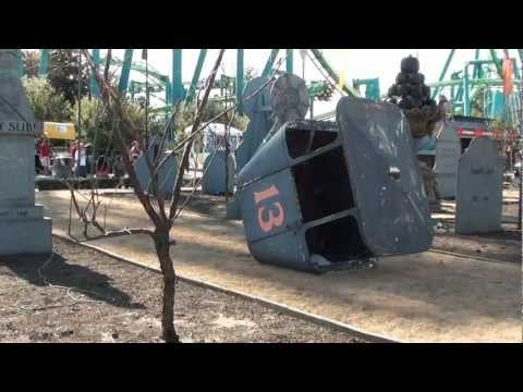 Cedar Point HALLOWEEKENDS Sept 2012 (видео)