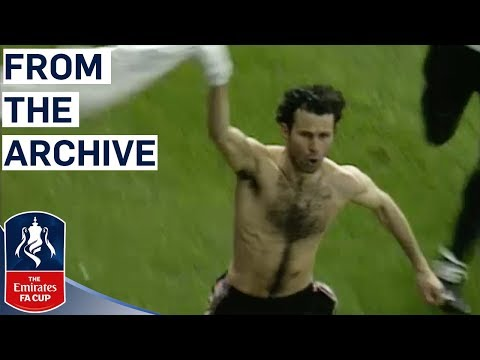 Giggs' Unforgettable Solo Goal | Manchester United v Arsenal | FA Cup Semi Final 1999 | Classics