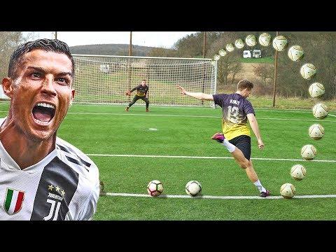 CRISTIANO RONALDO FOOTBALL CHALLENGES • KONZI vs MICHI - Thời lượng: 13 phút.