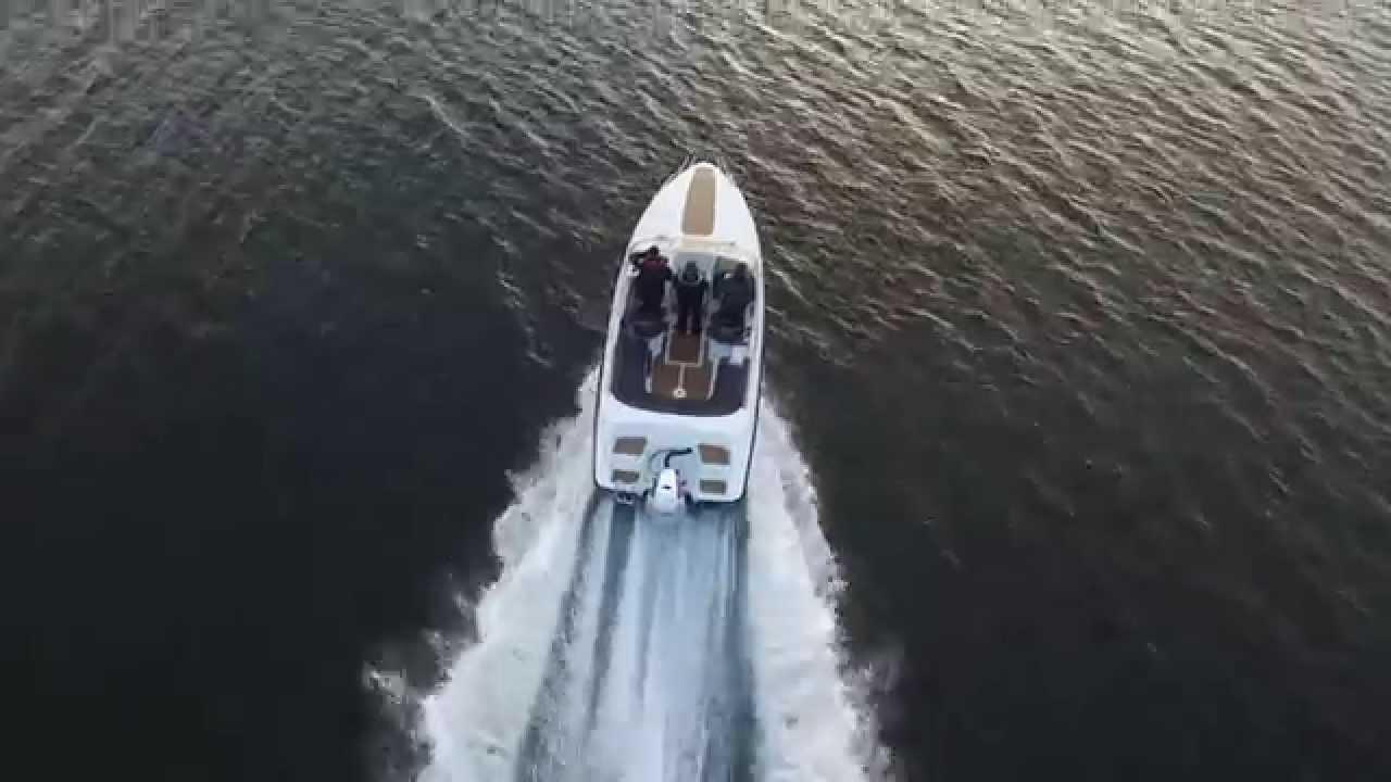 Прогулочные катера для отдыха и рыбалки AMT Boats – Великолепные виды катеров в море около берегов Финляндии