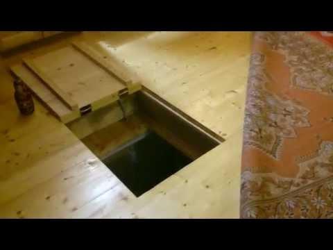 Крышка на погреб своими руками видео